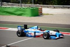 Bil för framstickandeGP Benetton B197 formel 1 Royaltyfri Bild