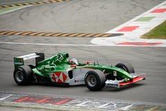 Bil för framstickandeGP Jaguar R5 formel 1 Royaltyfria Foton