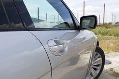 Bil för handtag för höger dörr Arkivbilder