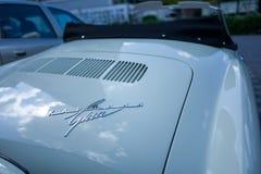 Bil för klassikerVW Karman royaltyfria foton