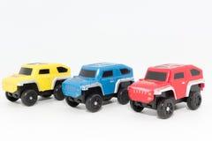 bil för leksak 4x4 Arkivbilder