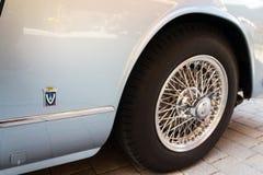 Bil för Maserati 3500 GT oldsmobile tappningveteran Royaltyfri Foto
