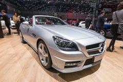 Bil för Mercedes-Benz SLK 200 CarbonLOOK upplagafiber Royaltyfria Foton