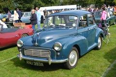 Bil för Morris Minor 1000 klassikertappning Royaltyfri Fotografi