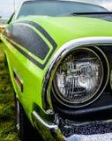 Bil för muskel för Dodge utmanare amerikansk Fotografering för Bildbyråer