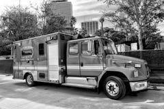 Bil för räddningsaktion för kämpe för röd brand Royaltyfria Foton