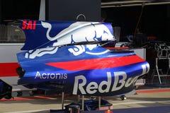 Bil för Red Bull formel 1 Royaltyfria Foton