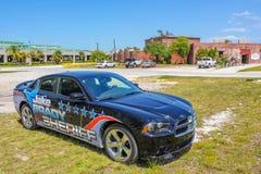 Bil för sheriffJake Brady svart royaltyfri fotografi