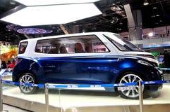 Bil för Voss reklamfilmbegrepp Royaltyfri Fotografi