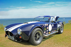 Bil för klassiker för Ford shelby kobrasc Arkivbild