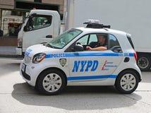 Bil för NYPD Smart Arkivbild