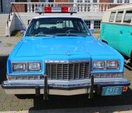 Bil för polisen för tappningNYPD Plymouth Royaltyfri Foto