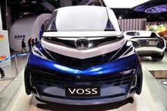 Bil för Voss reklamfilmbegrepp Fotografering för Bildbyråer