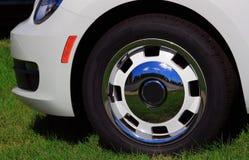 Bil Front Tire Arkivfoto