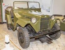 Bil GAZ-67B, (1943-1953) Royaltyfri Bild