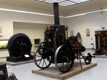 Bil i det tekniska museet i Prague 8 Arkivfoto