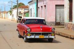 Bil i Kuba Arkivbild