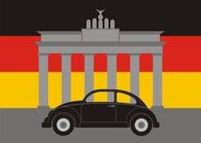 Bil i Tyskland Royaltyfri Fotografi