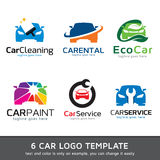 Bil Logo Template Design Vector Arkivbild