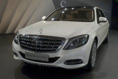 Bil Mercedes-Maybach S-Klasa Royaltyfri Fotografi