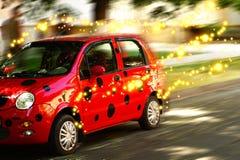 Bil - nyckelpiga Fotografering för Bildbyråer
