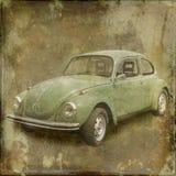 Bil på textur II royaltyfri foto