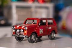 Bil som används för hem- garnering royaltyfri fotografi