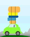 Bil som går att resa Royaltyfri Illustrationer