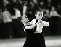 Bila Tserkva, de Oekraïne 22 februari, Internationale open danc van 2013 Royalty-vrije Stock Afbeeldingen