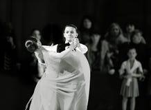 Bila Tserkva, Ucrânia 22 de fevereiro de 2013 danc aberto do International imagem de stock royalty free