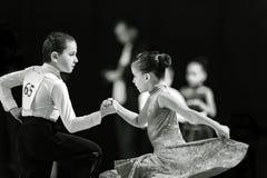 Bila Tserkva, Ucrânia 22 de fevereiro de 2013 danc aberto do International Imagens de Stock Royalty Free