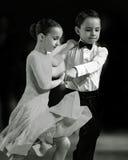 Bila Tserkva, Ucrânia 22 de fevereiro de 2013 danc aberto do International Imagem de Stock