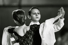Bila Tserkva, Ucrânia 22 de fevereiro de 2013 danc aberto do International Fotografia de Stock Royalty Free