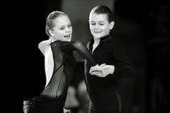 Bila Tserkva, Ucrania 22 de febrero de 2013 danc abierto del International Fotografía de archivo libre de regalías