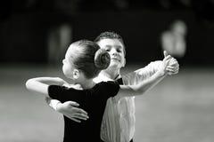 Bila Tserkva, Ucrania 22 de febrero de 2013 danc abierto del International Foto de archivo libre de regalías
