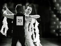 Bila Tserkva, Ucrania 22 de febrero de 2013 danc abierto del International Foto de archivo
