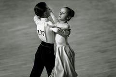 Bila Tserkva, Ucrania 22 de febrero de 2013 danc abierto del International Fotografía de archivo