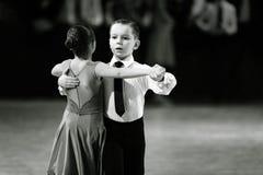 Bila Tserkva, Ucrania 22 de febrero de 2013 danc abierto del International Imagen de archivo