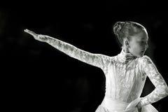 Bila Tserkva, Ukraina Luty 22, 2013 zawody międzynarodowi otwarty danc Zdjęcie Stock