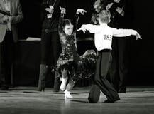 Bila Tserkva, Ukraina Luty 22, 2013 zawody międzynarodowi otwarty danc Obrazy Royalty Free