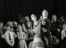 Bila Tserkva, Ukraine 22 février 2013 danc ouvert d'International Photos stock