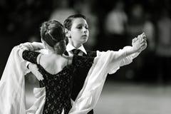Bila Tserkva, Ukraine 22 février 2013 danc ouvert d'International Images libres de droits