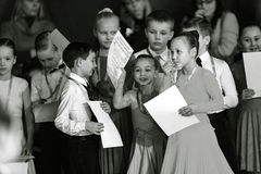 Bila Tserkva, Ukraine. February 22, 2013 International open danc Royalty Free Stock Photo
