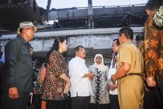 BILANCIO IN AUMENTO DELL'INFRASTRUTTURA DELL'INDONESIA Fotografie Stock