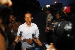 BILANCIO IN AUMENTO DELL'INFRASTRUTTURA DELL'INDONESIA Fotografia Stock