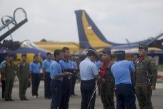 BILANCIO DELLA DIFESA DI AUMENTO PIÙ VELOCE DELL'INDONESIA Fotografie Stock