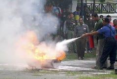 BILANCIO DELLA GESTIONE DEI DISASTRI DELL'INDONESIA Fotografia Stock