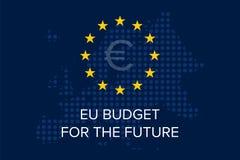 Bilancio di UE per il futuro illustrazione vettoriale