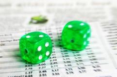 bilans ryzyka Fotografia Stock