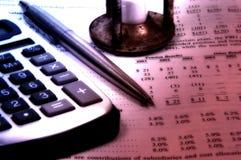 Bilanz Stockbild